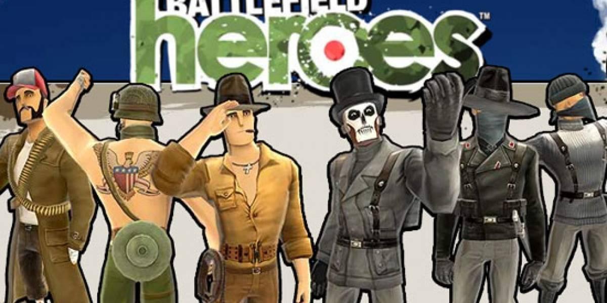 ¡Battlefield Heroes lanzado! (sin bombos ni platillos)
