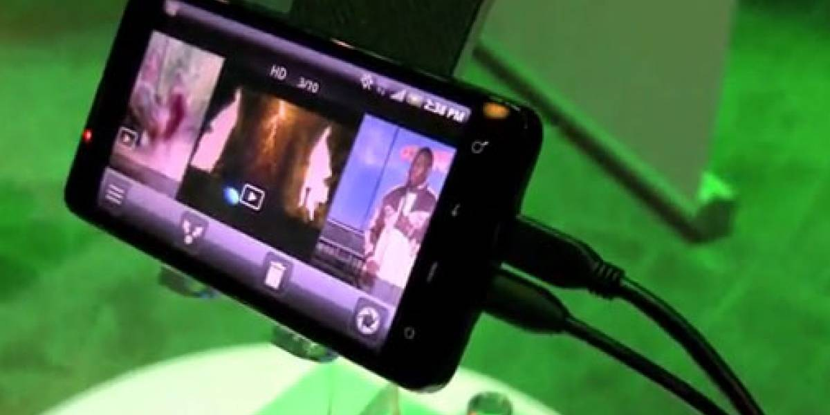 Video: Salida de TV por HDMI del HTC EVO 4G