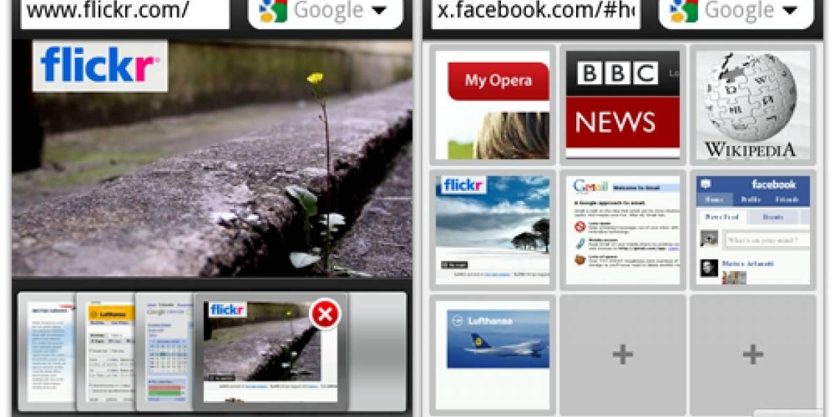 MWC10: Opera Mobile 10 corriendo en Android