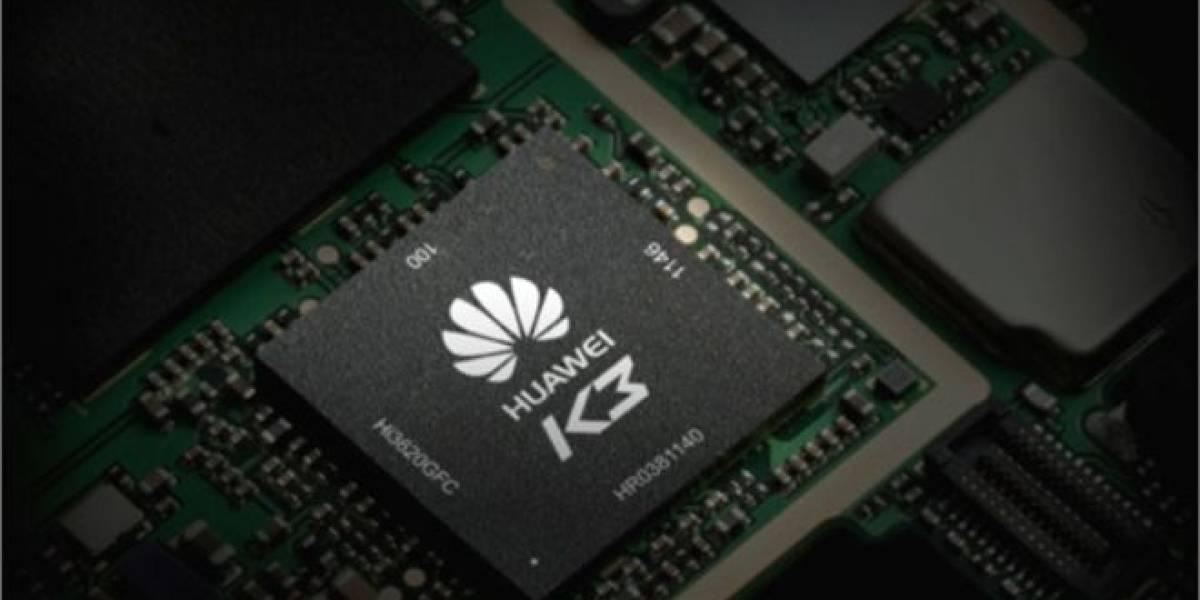 SoC Huawei K3V2 muestra impresionante desempeño
