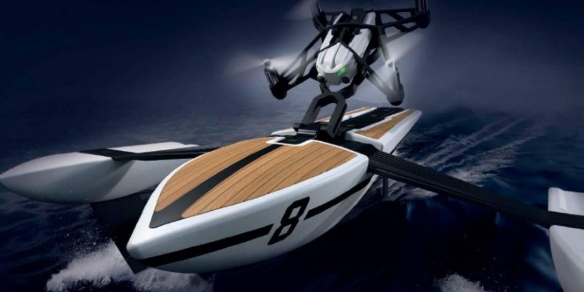 Hydrofoil, un dron aéreo que se convierte en barca inútil