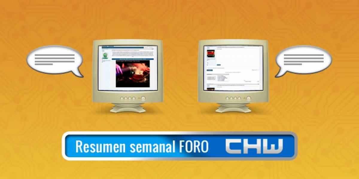 Resumen del Foro: preview de Windows 8, Festival de Viña y más.