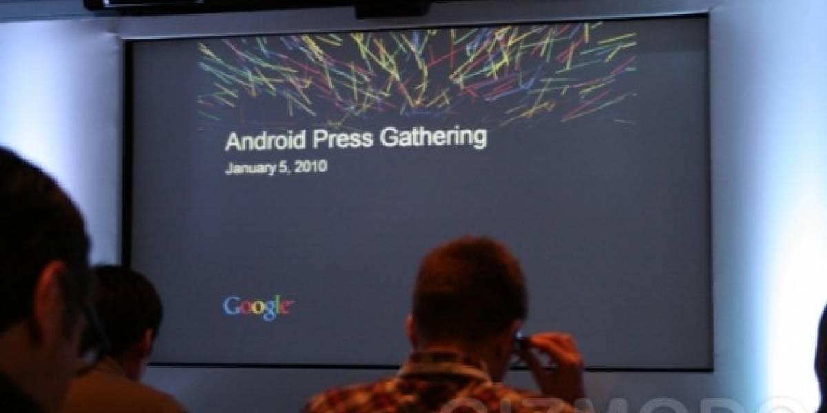 Presentación del Nexus One