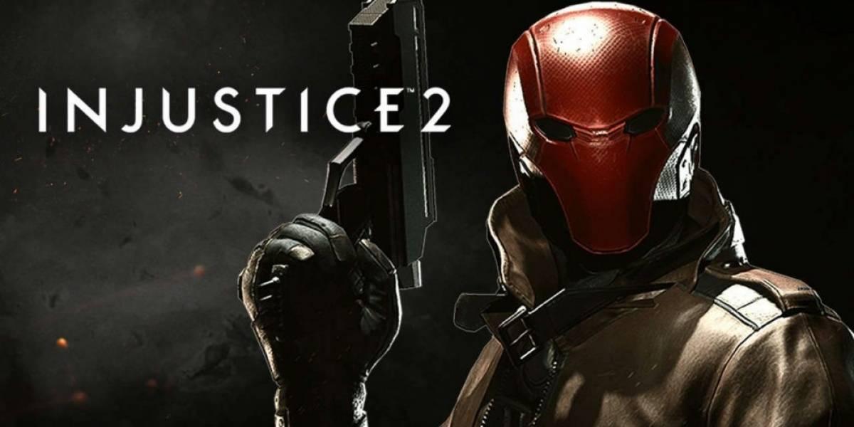 Muestran la primera imagen de Red Hood en Injustice 2