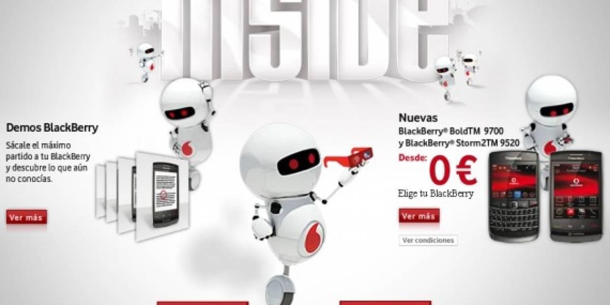 Vodafone nos muestra el funcionamiento de las BlackBerries con animación 3D