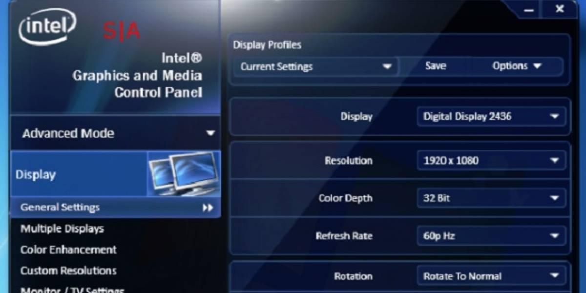 Controladores gráficos Intel 15.31.3.64.3071 a prueba