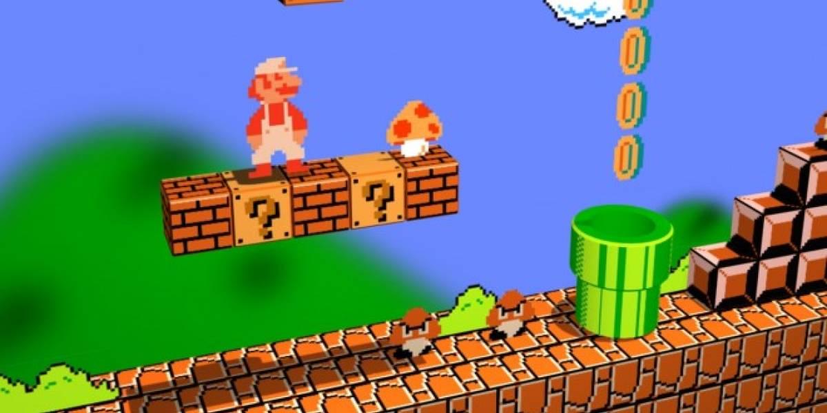 Inteligencia artificial diseña niveles de Super Mario Bros viendo gameplays por YouTube
