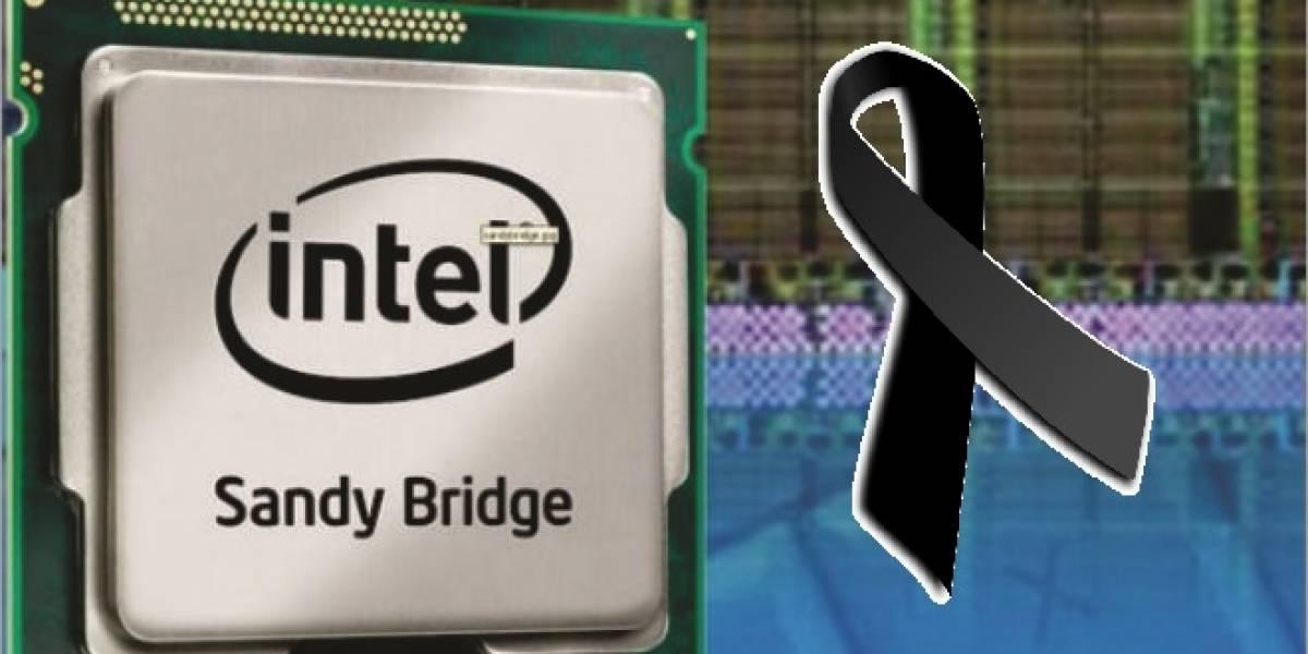 """Adiós Sandy Bridge: Intel descontinúa 45 CPUs Core de segunda generación """"Sandy Bridge-DT"""""""
