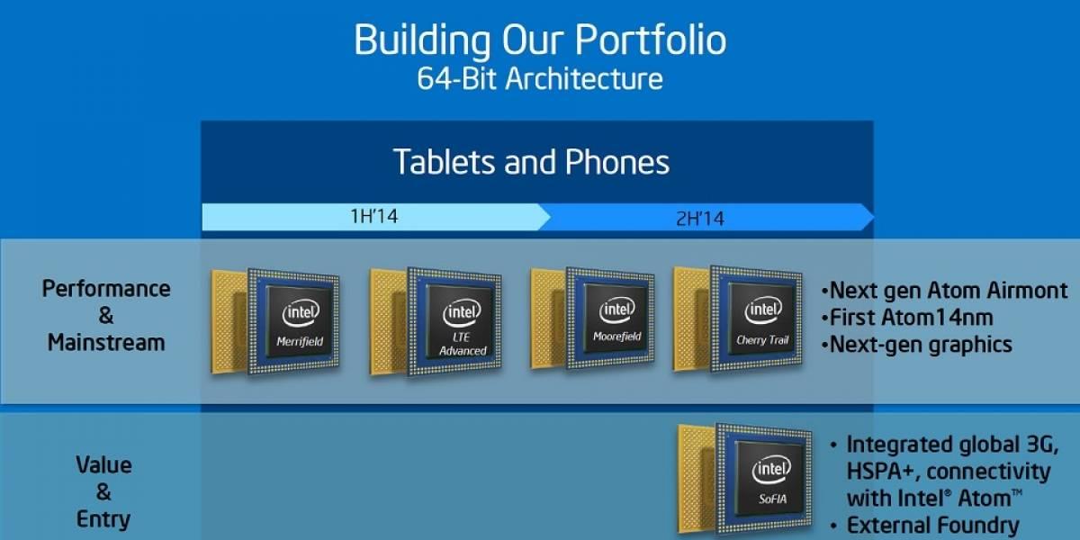 """Más detalles de los futuros SoC Intel Atom """"SoFIA"""" y """"Broxton"""""""