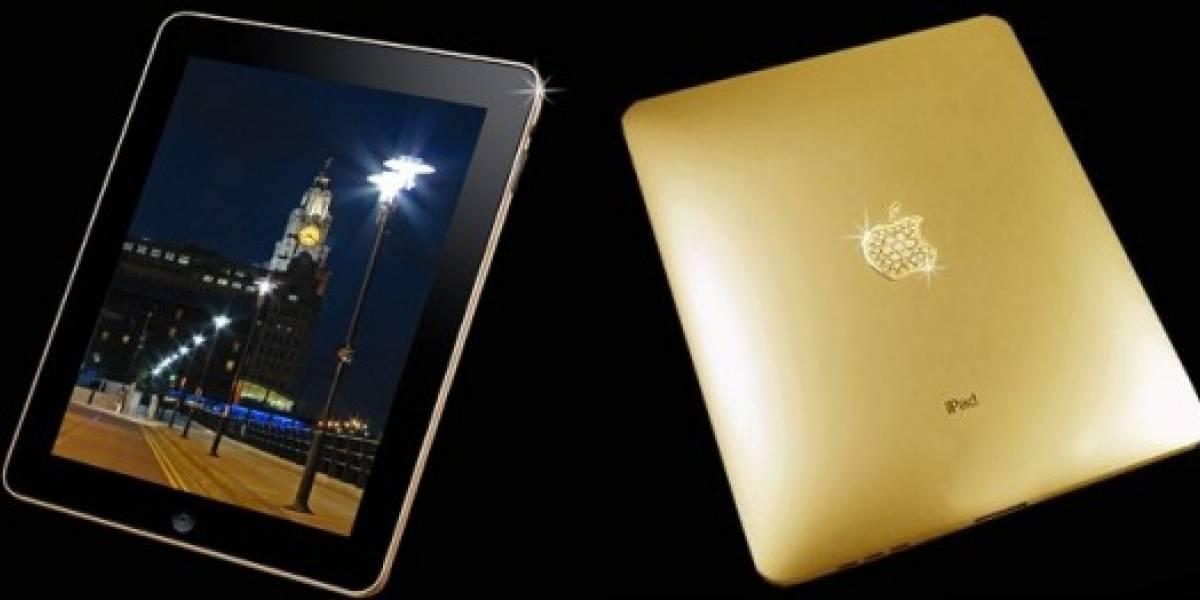 Ya apareció el iPad de oro