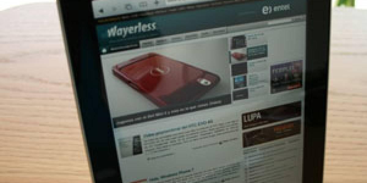 iPad tiene el 0,04% del mercado de navegadores