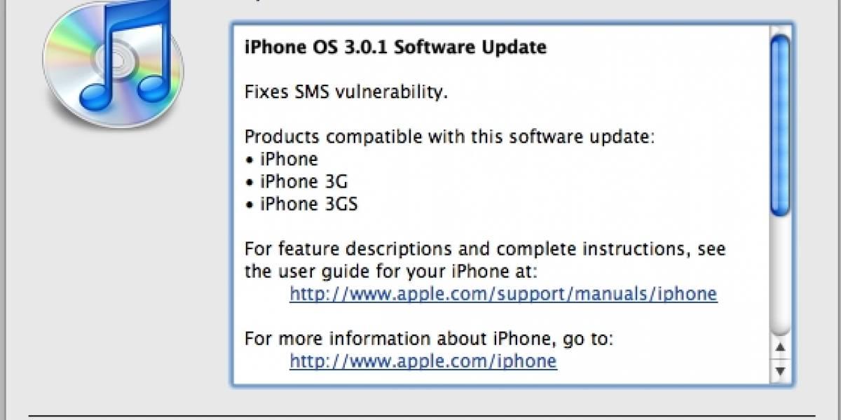 Apple libera actualización para el iPhone que soluciona vulnerabilidad con los SMS