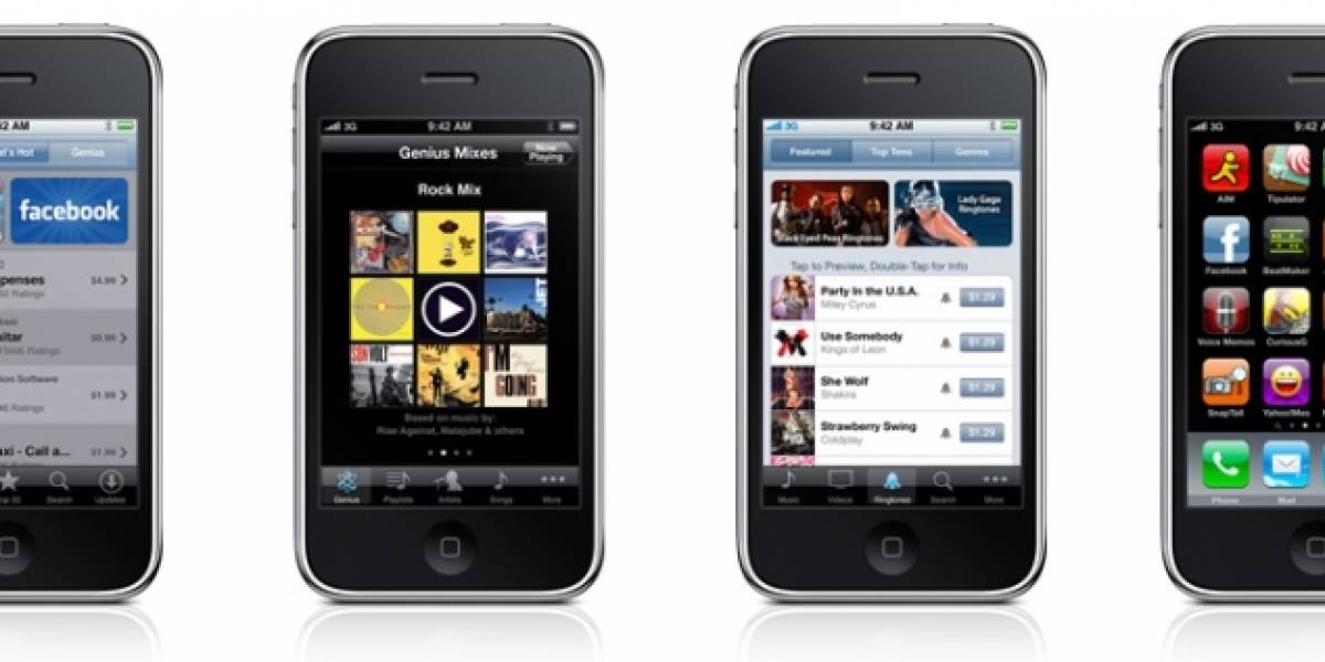 iPhone OS 3.1 disponible para descarga y gratis