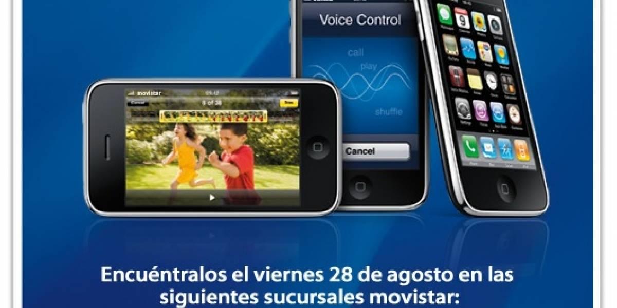 iPhone 3G S: Desde el viernes disponible en Movistar