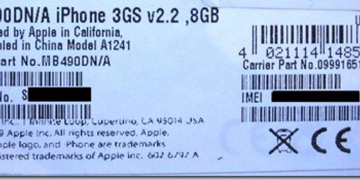 Rumor: iPhone 3GS de 8G en camino