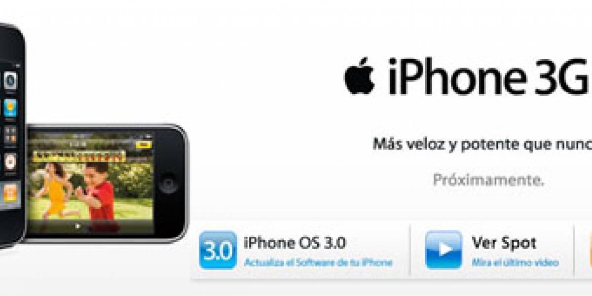El iPhone 3GS llegará a algunos países latinoamericanos el 31 de julio