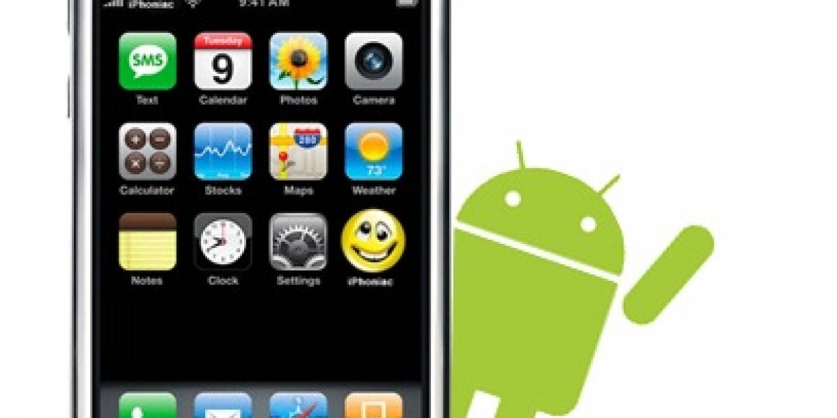 Locura: Clon de iPhone con Android