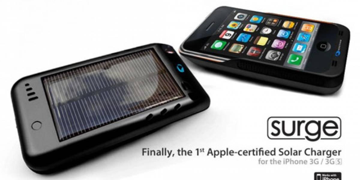 Apple certificó el primer cargador solar para el iPhone