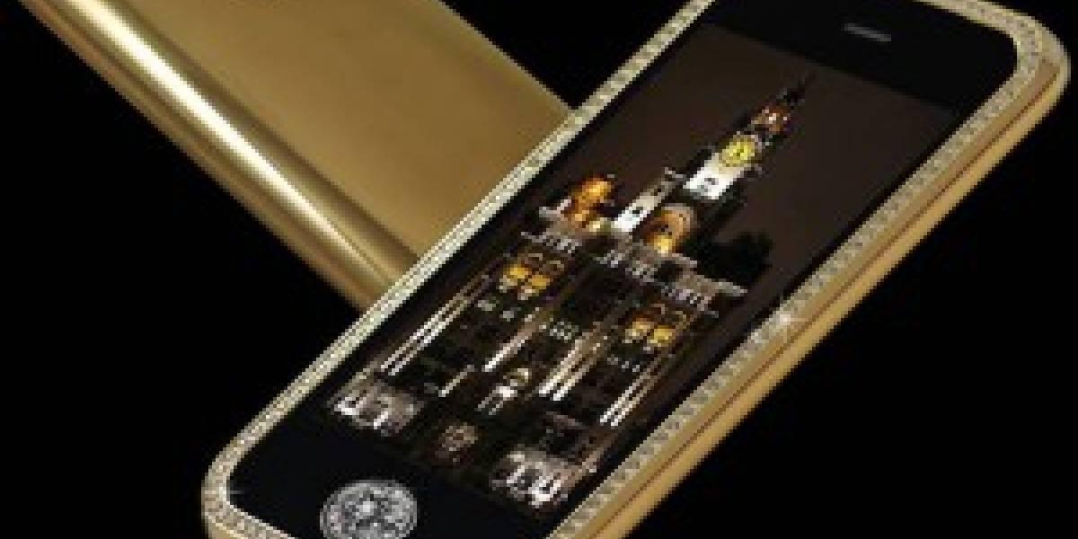 El móvil más caro del mundo es un iPhone de oro con diamantes