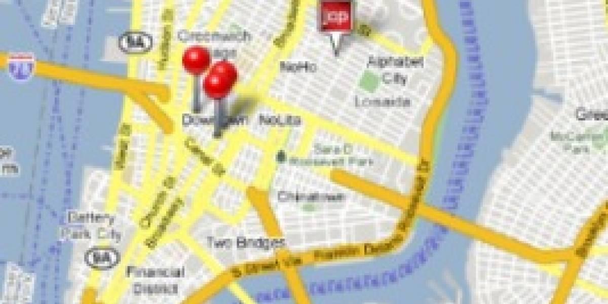 Google incluye publicidad en Google Maps para el iPhone