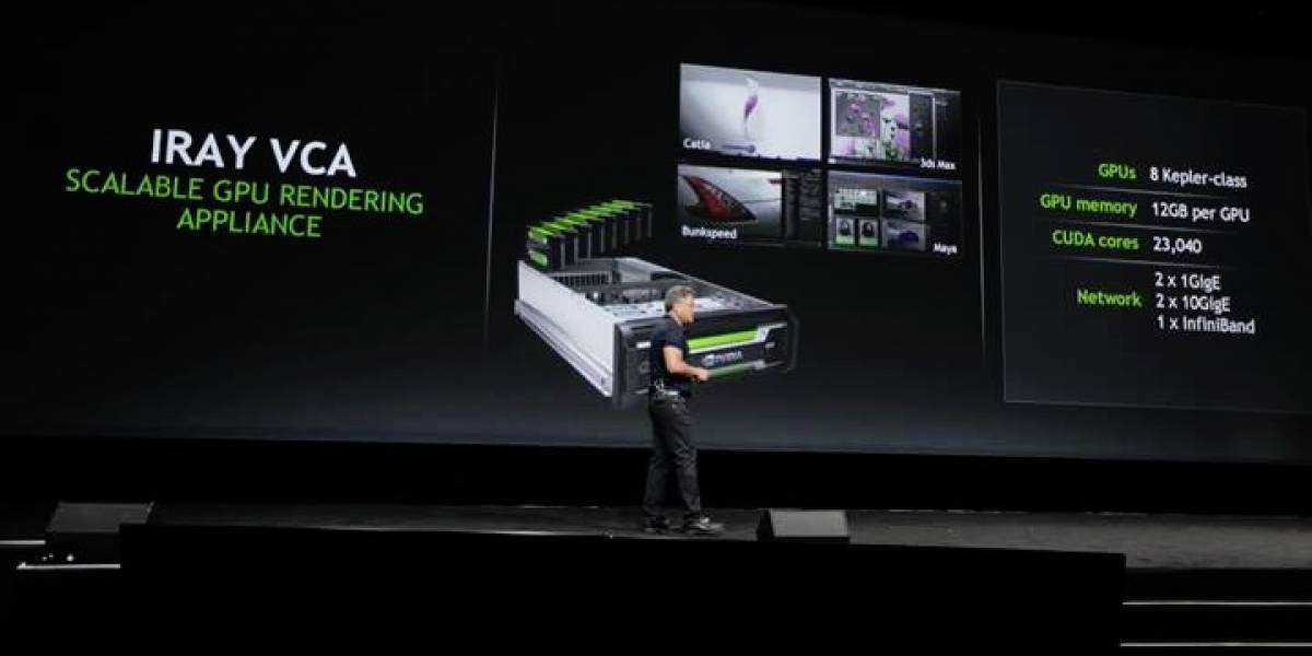 NVIDIA anuncia Iray VCA: Raytracing en la nube