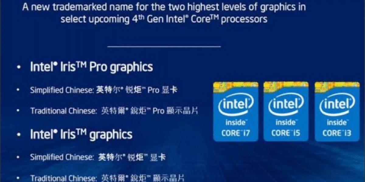 Intel presenta sus IGP Iris Pro Graphics 5200 e Iris Graphics 5100