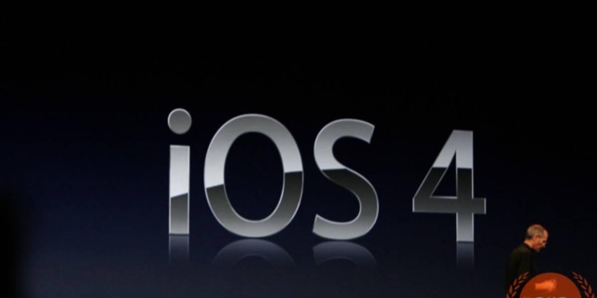 WWDC 2010: iPhone OS 4 cambia su nombre a iOS 4 con algunas novedades