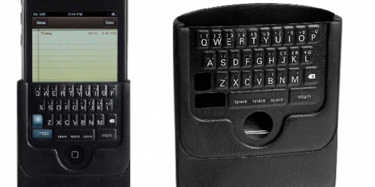 iTwinge: Teclado físico para iPhone / iTorpes
