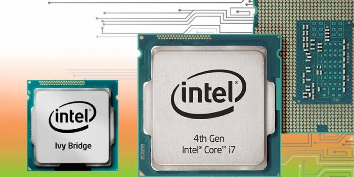 """CPUs Intel Core de cuarta generación V2 """"Haswell2-DT"""" llegan en abril"""