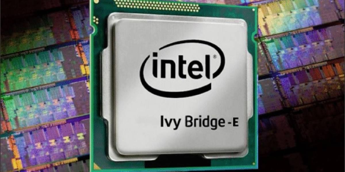 CPUs Intel Ivy Bridge-E  llegan entre el 4 y 11 de septiembre de este año