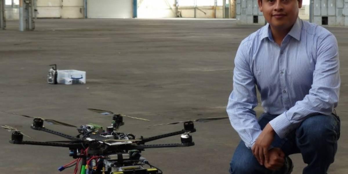 Científico mexicano creó sistema de drones independientes que aprenden nuevas rutas