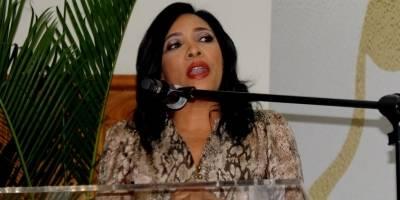 Julissa Rumualdo en el acto de anuncio de las nominaciones de los III Premios Iris Dominicana - Copy