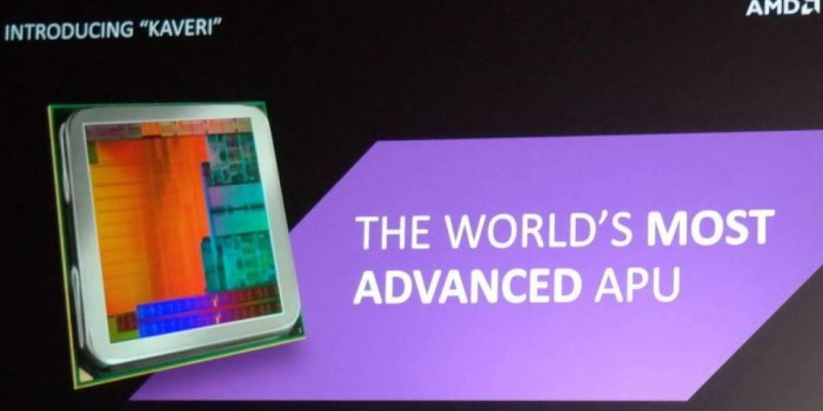 """APUs AMD A-7000 Series """"Kaveri-DT"""": Más detalles, rendimiento y precio"""