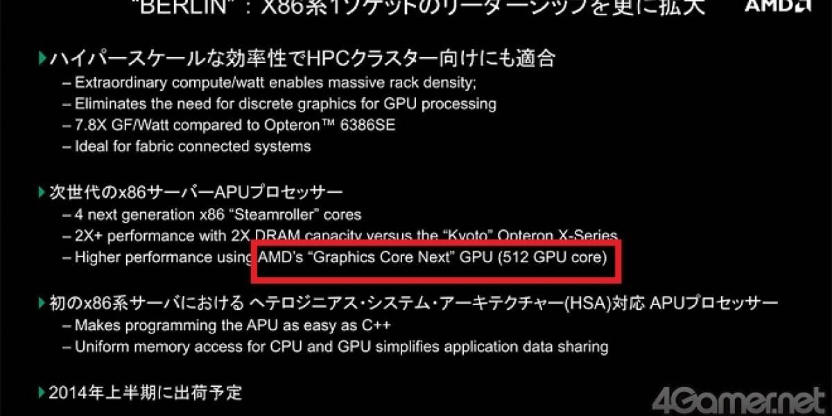 Confirmado: APU AMD Kaveri tendrá un IGP con 512 shader processors