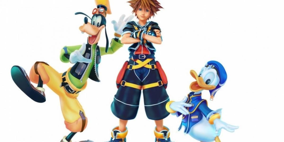 Kingdom Hearts III y Final Fantasy VII Remake llegarán en el 2018