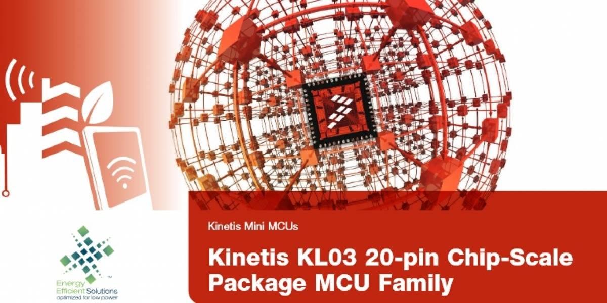 Freescale Tiny Kinetis KL03: El microprocesador de 32 bits más pequeño del mundo