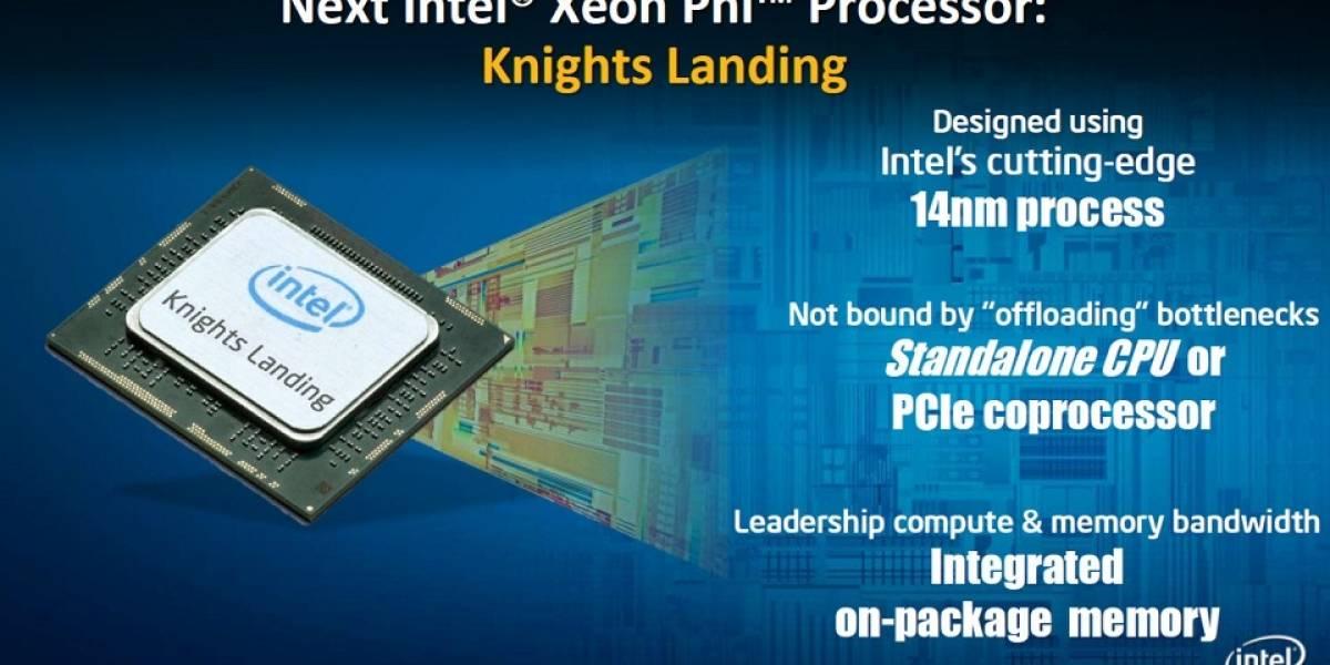 """Intel detalla sus coprocesadores Xeon Phi de segunda generación """"Knights Landing"""""""