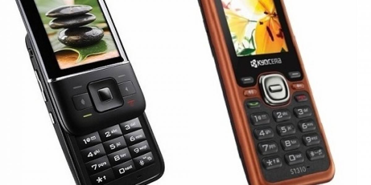 Laylo y Domino: Dos nuevos móviles de Kyocera