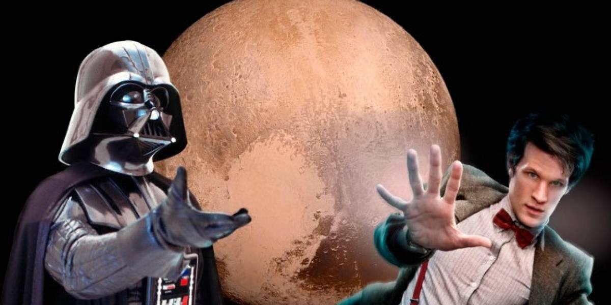 La NASA quiere usar nombres de Star Wars y Doctor Who para la luna de Plutón