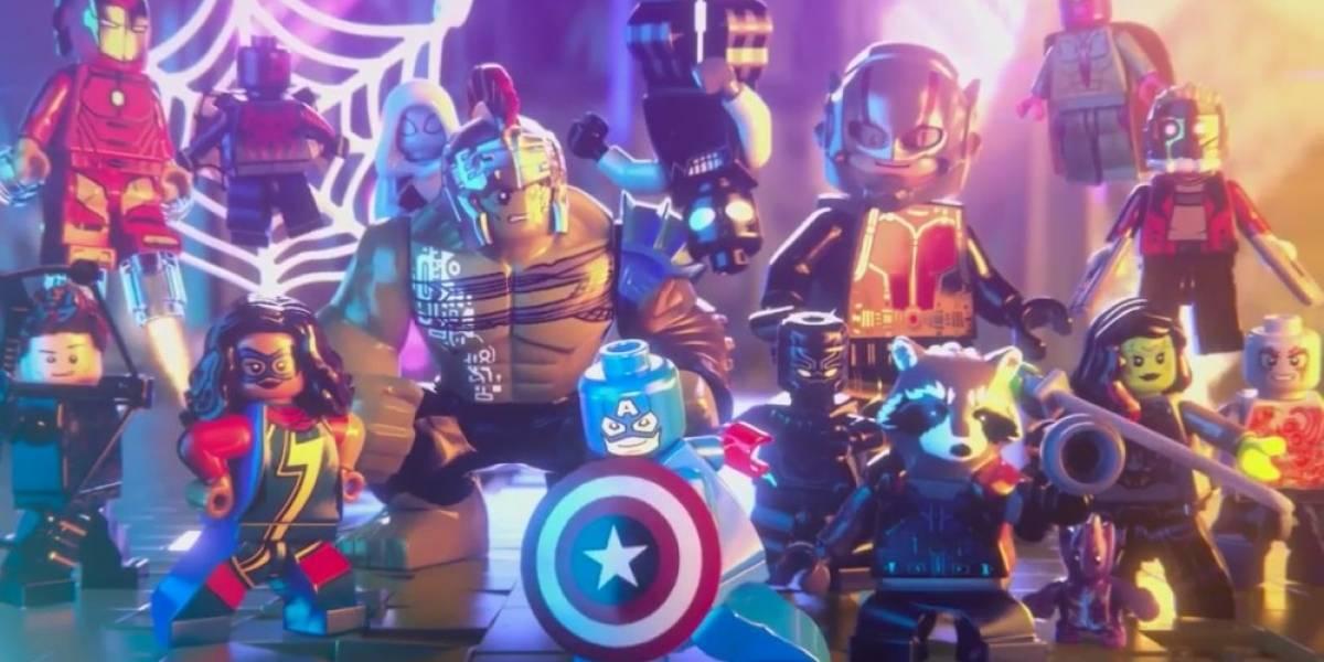 Liberan el tráiler completo de LEGO Marvel Super Heroes 2