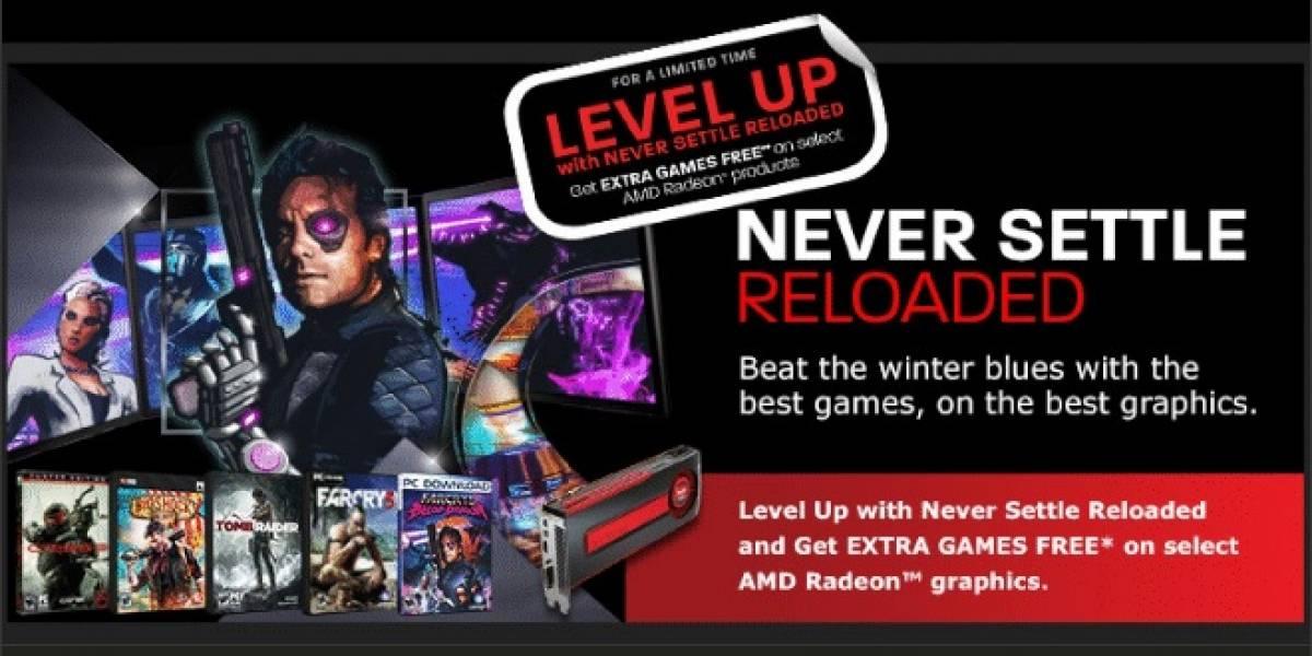 AMD anuncia su promoción Never Settle Reladed Level Up
