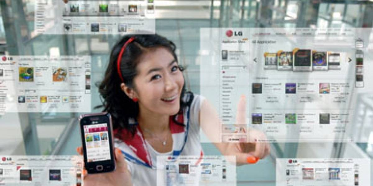 LG Application Store: Tienda de aplicaciones en Asia