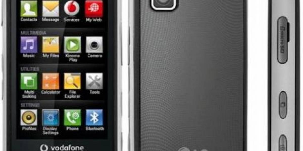 LG GM750 con Windows Mobile 6.5 anunciado por Vodafone