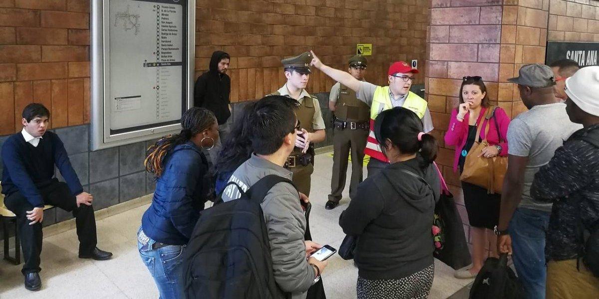 Metro interrumpe servicio en parte de la Línea 5 luego que persona se lanzara a las vías