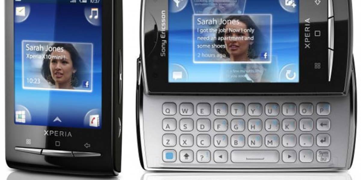Sony Ericsson no quiere que el XPERIA X10 Mini y Pro sean multitáctiles
