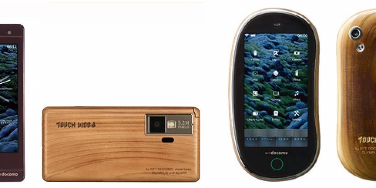 Touch Wood: NTT Docomo presenta su concepto de celulares de madera