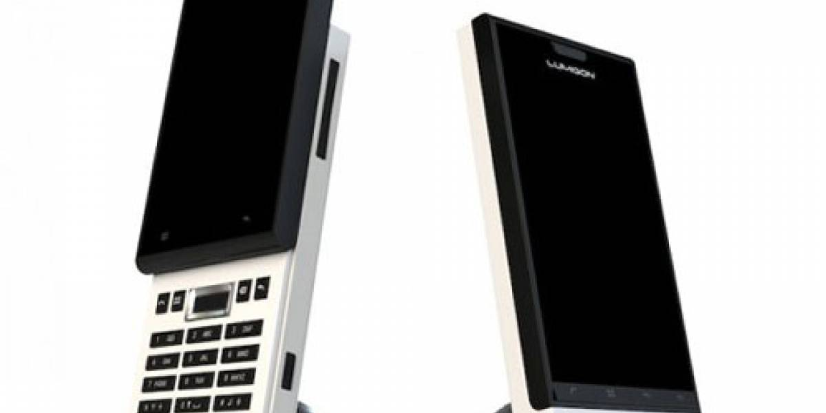 MWC10: Lumigon anunció 3 móviles minimalistas con Android, el T1, S1 y E1