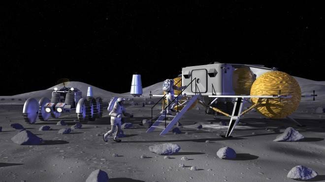 La NASA elige al fabricante de satélites Maxar como socio para construir la primera pieza de su Estación Espacial Lunar