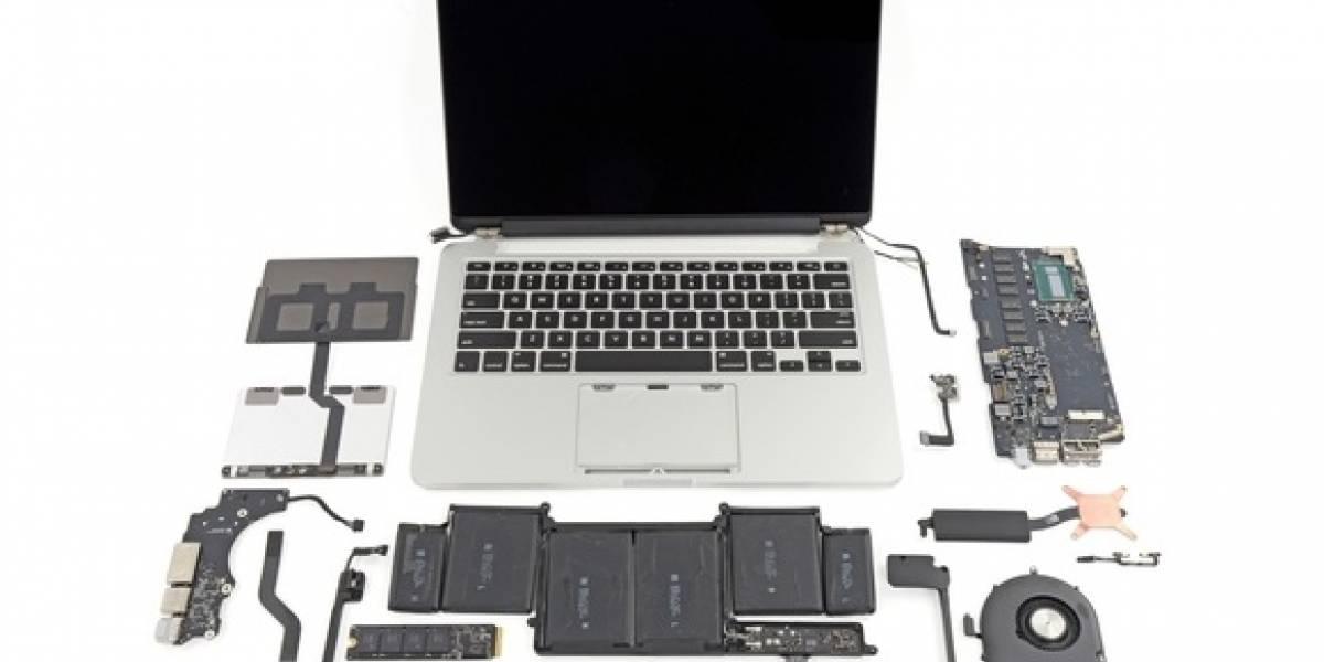 MacBook Pro Edición 2013 es muy difícil de reparar