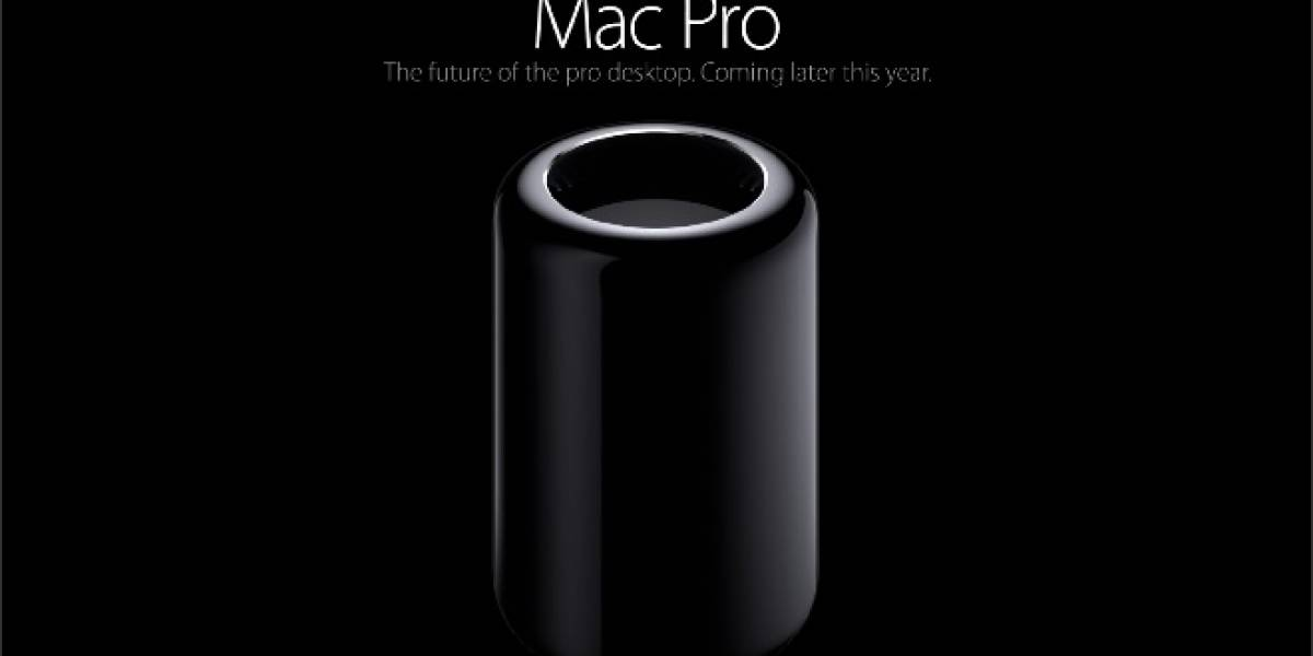 Apple anuncia su Mac Pro Edición 2013